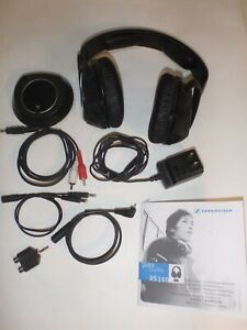 Sennheiser RS160 Headband Wireless Headphones,Complete,Manual,Xtra Cords