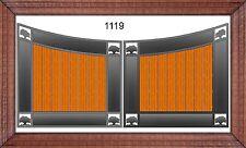 Custom Built Driveway Entry Gate 12ft Wide Dual Swing. Fencing, Handrails