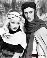 8x10 Print Basil Rathone Marlene Dietrich The Garden of Allah 1936 #1c527