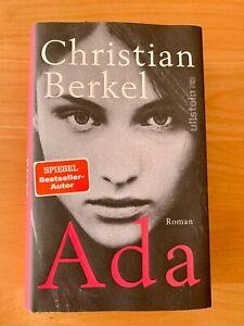 Christian Berkel, Ada, Hardcoffer, Spiegel Bestseller, Roman