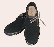 Haferlschuhe Trachtenschuhe Haferl Schuhe schwarz Velourleder Velour Tracht