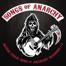 SONGS SONS OF ANARCHY 1-4 MUSIC FROM DVD SEASON 1 2 3 4 SOUNDTRACK
