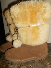 FUN NWT J. CREW TALL SHERPA LINED SUEDE SNOW BOOTS 11M $550 SELL FOR $350