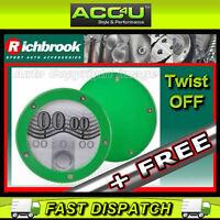 Richbrook Green Twist Off Back Car Tax Disc Holder+FREE