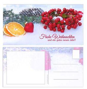 Grußkarten Postkarte *Weihnachtskarte *Weihnachten Geschenkgutscheine