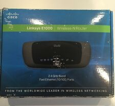 Cisco-Linksys E1000 Wireless-N Router COMPLETE IN BOX