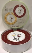 The Wine Plate Sonoma Collection Plates Set Of 4