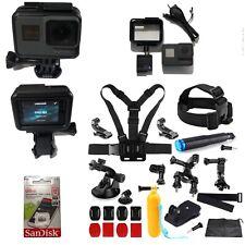 GoPro HERO 5 BLACK 4K CHDHX-501 Camera+16GB Card+Adventure Sports Bundle Hero5!