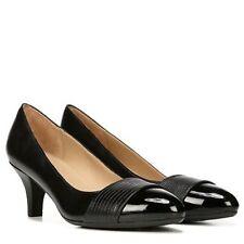 NATURALIZER DARLENE Ladies  Black Combination  Leather  Pump  Sz. 8.5 M  NIB