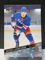Alexis Lafreniere #201 YOUNG GUNS - Upper Deck Series 1 - New York Rangers