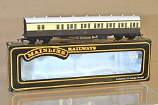 MAINLINE 937320 GW GWR CHOCOLATE CREAM SUBURBAN B COACH 6896 MINT BOXED ne