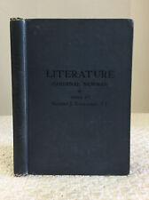 LITERATURE: A LECTURE- John Henry Cardinal Newman,  1912 Catholic