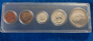 1964 US Uncirculated Coin Set in Plastic Holder  Standard Savings & Loan