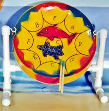 Mini Steel Drum, Sticks, Stand, Play-along DVD, Song Booklet - SCRATCH/DENT SALE