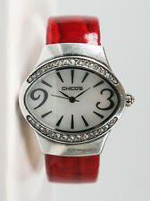 Chico's Women's Antique Silver-Tone Bangle Watch CH-553. New and unworn.