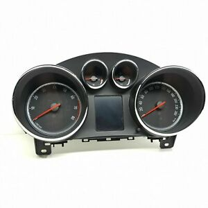 Opel Astra J 2009 Essence Km/H Compteur de Vitesse Instrument Cluster 13338431