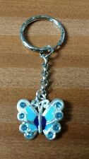 Butterfly keyring / secure bag charm. Mothers,  teacher, birthday gift ect