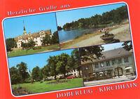 Doberlug-Kirchhain  -  Schloss - Strandbad Erna - Bier- und Weinstuben - ca.1995