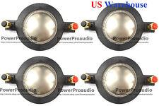 4PCS Diaphragm for Mackie DC10/1701 SRM-450 C300Z P-Audio BMD-440 BMD-450 Driver