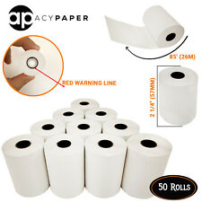 Thermal Paper 2 1/4 x 85 (50 Rolls) First Data FD50 FD130 FD100Ti  FD55