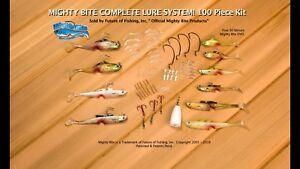 Official TV Mighty Bite Complete 100 Piece Kit+90 MIN. SECRETS DVD+FREE BONUS!