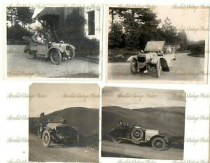 OLD PHOTOS INTERESTIING THREE WHEEL LIGHT MOTOR CARS MORGAN LSD & CASTLE 1920S