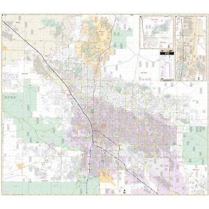 Tucson, AZ Metro Wall Map
