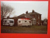 PHOTO  SUFFOLK WELNETHAM RAILWAY STATION 1985 EXTERIOR VIEW