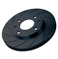 """Black Diamond 12 Groove Rear Discs Saab 9-5 2.3T 16"""" Wheels >Ch.X3025751 6/97 on"""