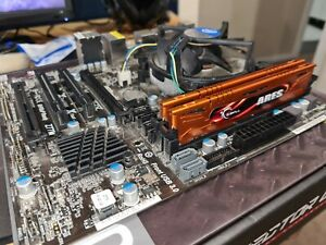 Motherboard i5 CPU combo with 16GB RAM