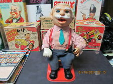 PUFFY MORRIS BATTERY OPERATED 50s JAPAN RARE TOY SMOKES CIGARETTES POWERS UP