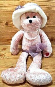 Musical Bear Singing Love Plush Stuffed Chantilly Lane Motion Shelf Sitter