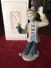 Paul Sebastian Porcelain Collection Clown Figurine Limited Edition 1993