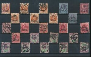 LN18476 Great Britain overprint government parcels classic lot used