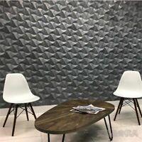 Rolling Wave Concrete Wall Brick Silicone Mold Decorative Nordic Cement Mould