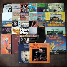 Vinyl Rock Oldies Schallplattensammlung Mike Sally Oldfield BAP Streisand Mey uä