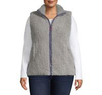 Women's Arizona Fleece Vest - Color: Rockefeller Gray - Size: 2X - MSRP $64