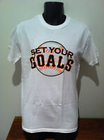 SET YOUR GOALS California 10 T-SHIRT NEW OFFICIAL MERCH Sizes SMALL & LARGE