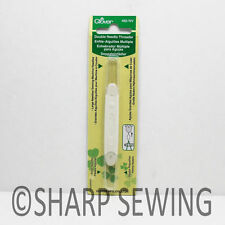 DOUBLE,  NEEDLE THREADER, FOR LARGE & SMALL NEEDLES #462NV BY CLOVER