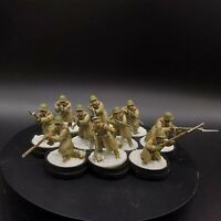 Well Painted 28mm Bolt Action Soviet Infantry rifle squad #1 Ww2 Warlord Games