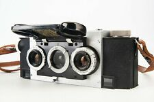 New ListingDavid White Stereo Realist 35mm Rangefinder Film Camera with Strap Tested