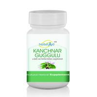 Herbal Aid Kanchnar Guggulu 60 Capsules - Herbal Supplement For Impurities