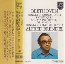 BEETHOVEN Piano Sonatas Op. 13 49/1,31/3  Brendel - Cassette - Tape   SirH70