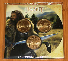 New Zealand -2012- Uncirculated 3 Coin Set-  The Hobbit  An Unexpected Journey