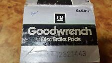 NEW OEM Genuine GM Rear Brake Pads 12321443 Buick Chevy Olds Pontiac Regal