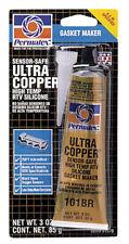 Permatex  Ultra Copper  RTV Silicone Gasket Maker  3 oz. - Case Pack of 12