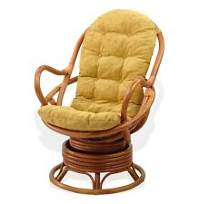 Cushion for Swivel Rocking Chair, Light Brown Color (Just Cushion)