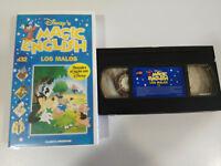 Los Bad Magic English Discover English With WALT DISNEY VHS Tape