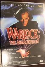 WARLOCK 2 THE ARMAGEDDON OOP RARE DELETED REGION 4 PAL DVD HORROR JULIAN SANDS