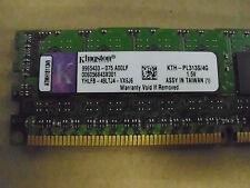 Kingston KTH-PL313S/4G 4GB Module - DDR3 1333MHz